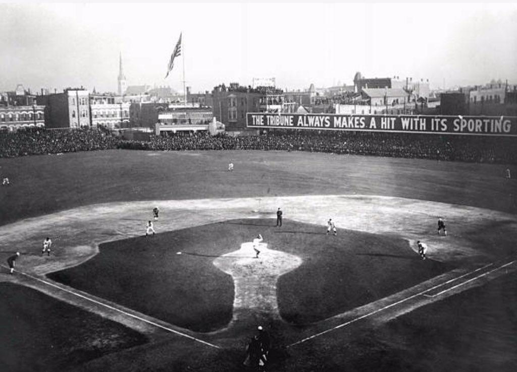 RT @onemillioncubs: 1906 World Series: Chicago Cubs vs Chicago White Sox https://t.co/5M0PYW0XJV