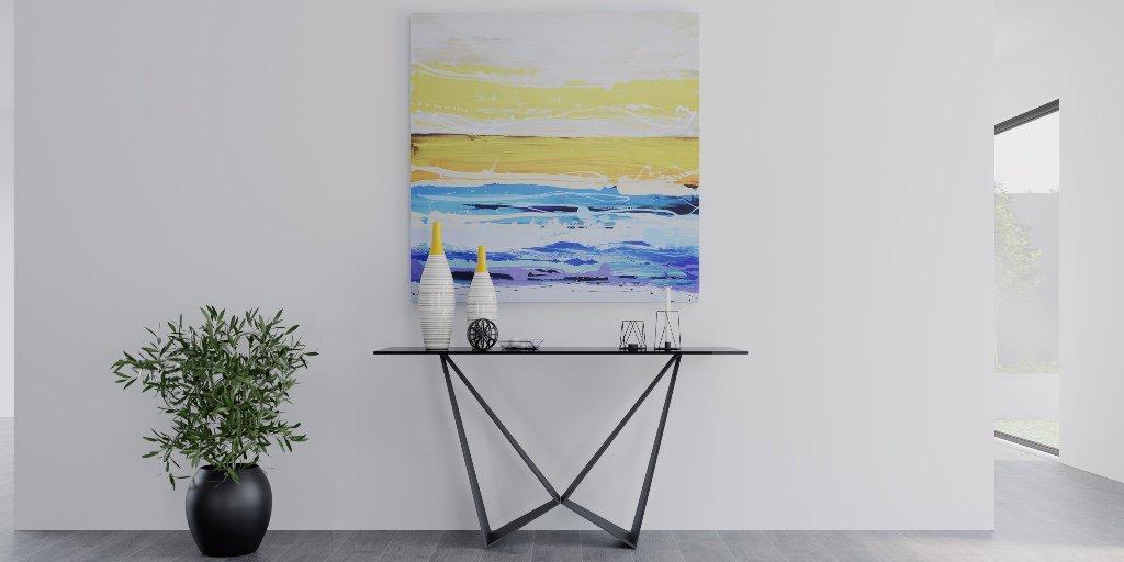 Balance Abstract Art With Modern