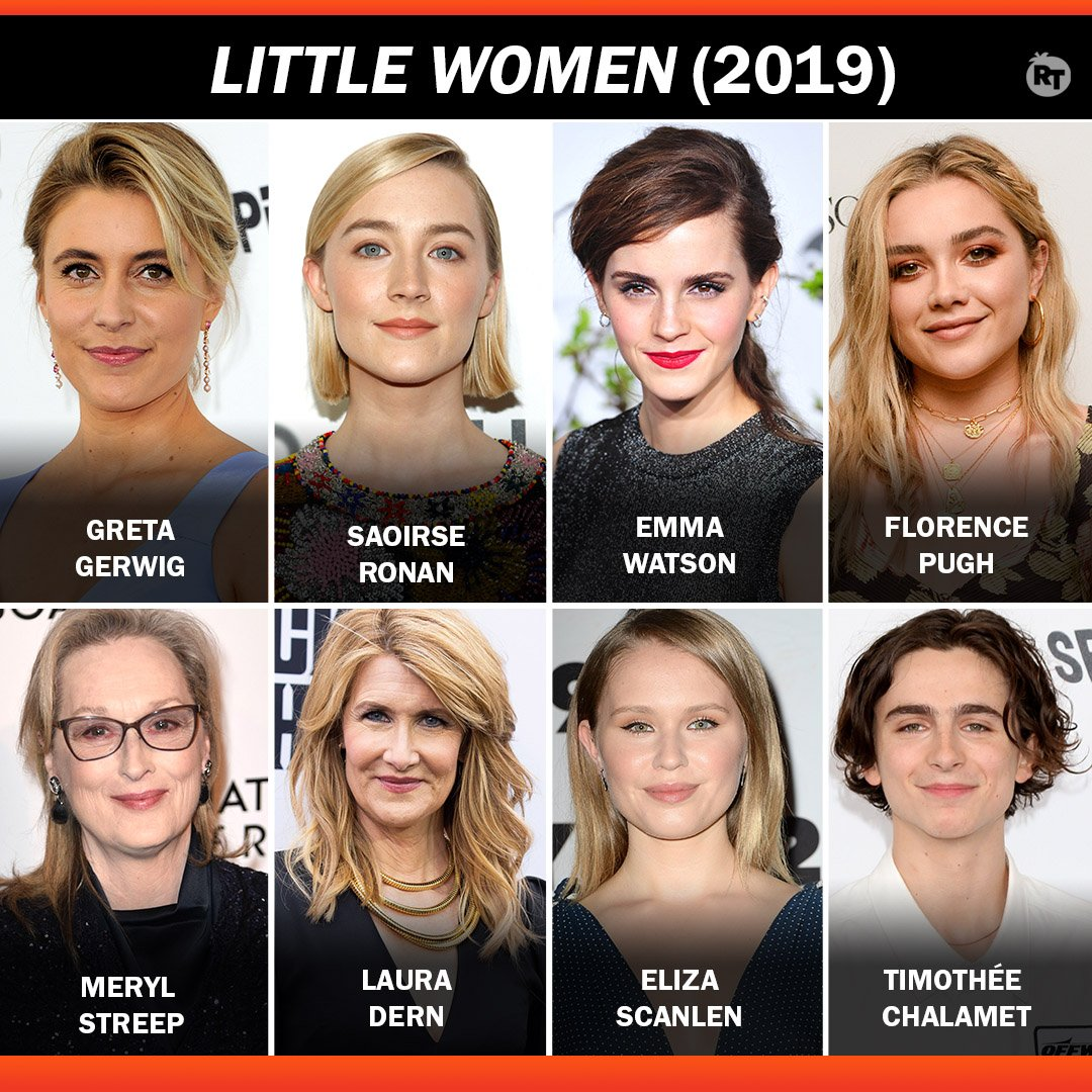 Greta Gerwig directs an incredible cast in #LittleWomen - coming to theaters this Christmas.