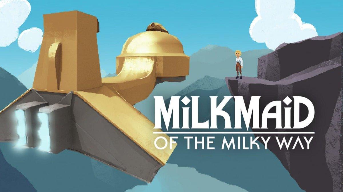Milkmaid of the Milky Way confirma su estreno en Nintendo Switch: disponible el 22 de agosto -  http://www. nintenderos.com/2019/08/milkma id-of-the-milky-way-confirma-su-estreno-en-nintendo-switch-disponible-el-22-de-agosto/  … <br>http://pic.twitter.com/uDrM2Lo7Dw