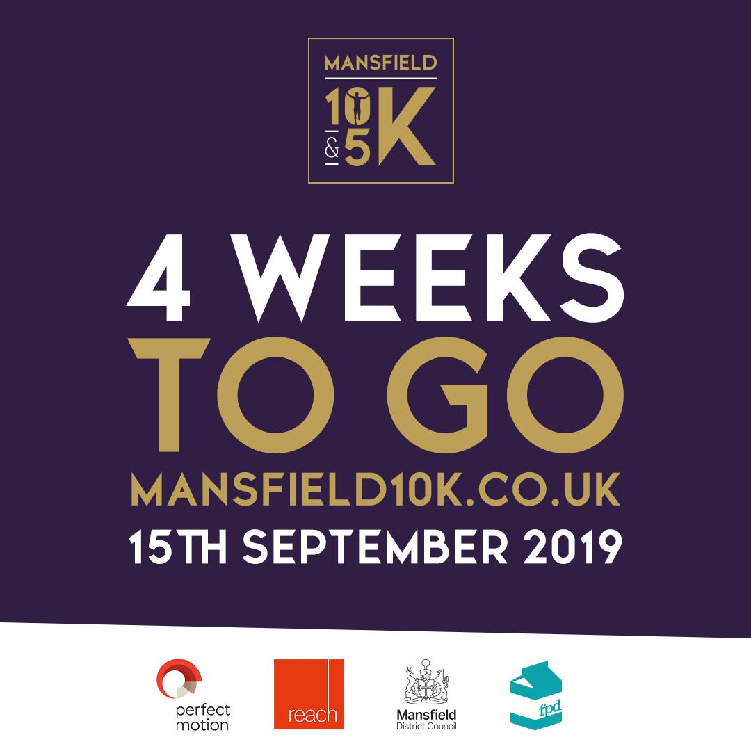 Its creeping up on us now! Just think though, by the time it comes round the kids will be well and truly back at school! Yeeehhhh! #mansfield10K #mansfield #nottinghamshire