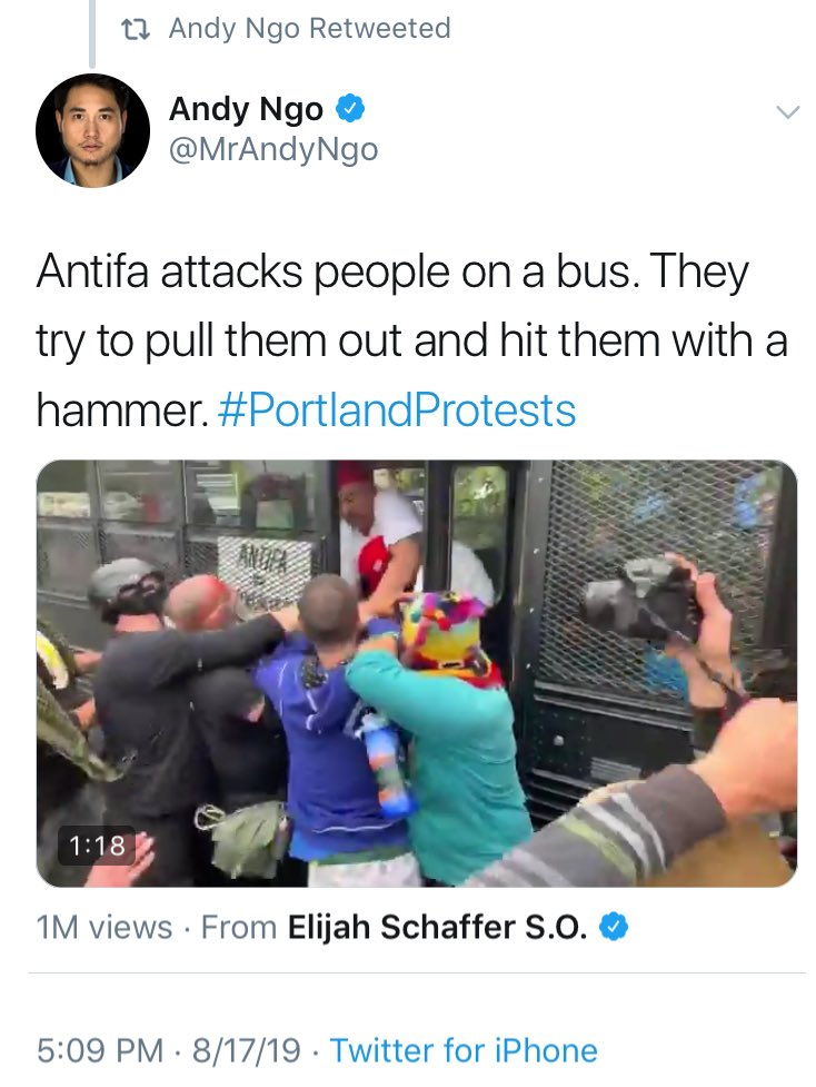 This is how violent fascists get turned into victims, through propagandists like @MrAndyNgo