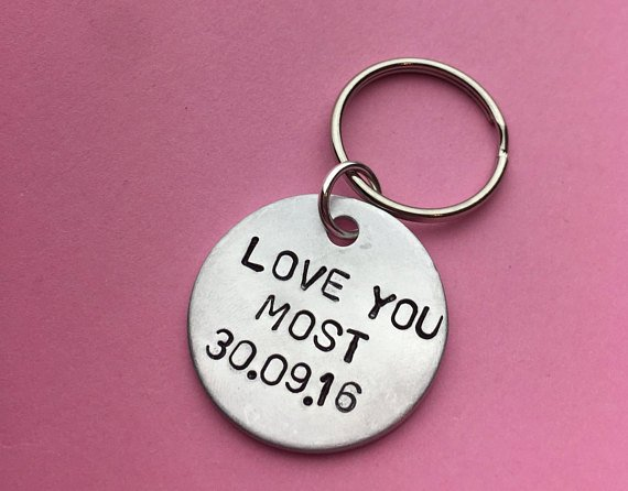 #LOVEYOUMOST #MOST i love you most #personalisedgifts #personaliseit #etsypersonalised #etsyfinds #etsy #keychain #keyring #engravings #customgift #love #valentines #bemyvalentine  https://www. etsy.com/uk/listing/588 335393/sale-this-valentines-day-boyfriend-gift?ref=related-7   … <br>http://pic.twitter.com/uGVJ6NjA0K