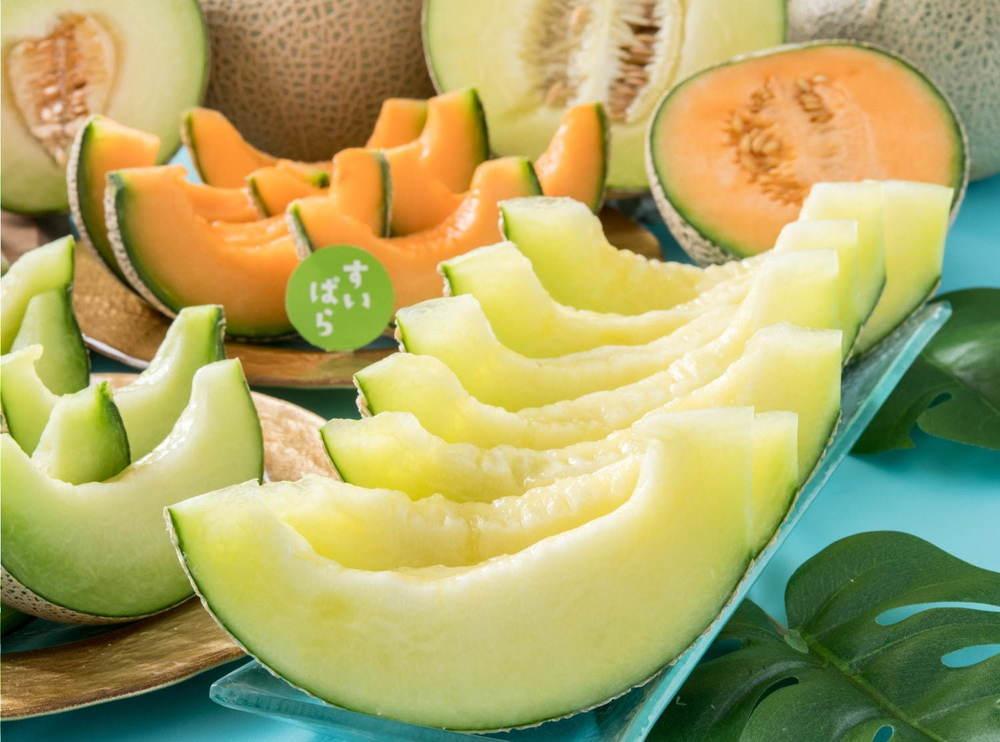 スイーツパラダイス「メロン食べ放題」旬のメロンを丸ごと提供&果汁たっぷりの大福やゼリーも -