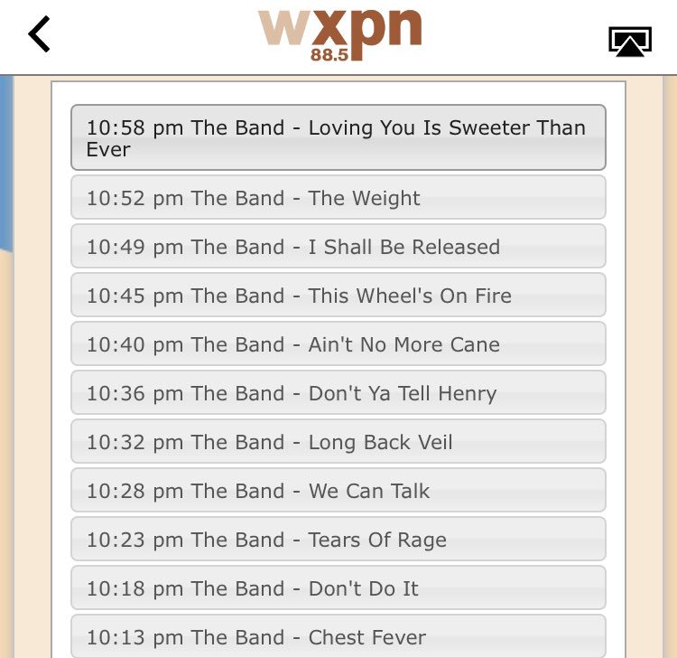 So good @wxpnfm #xpnstock