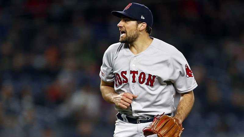 """Nathan Eovaldi gets the start for the Red Sox's series finale against the Orioles on Sunday.  Check out the matchup in tonight's """"Red Sox Final.""""  http:// nesn.com/?p=974577    <br>http://pic.twitter.com/MASjmCfnb7"""
