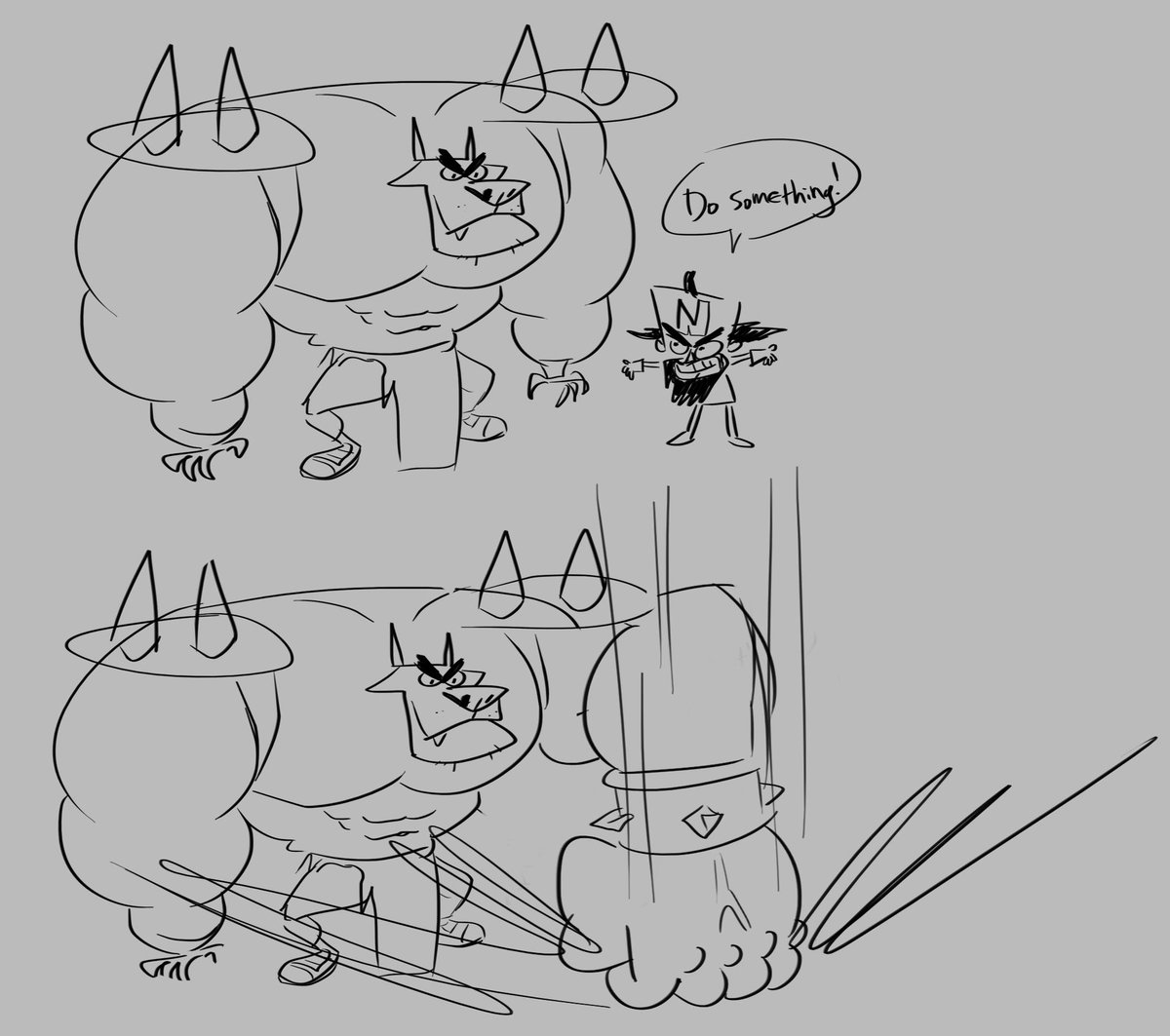 Silly crash bandicoot doodles from stream