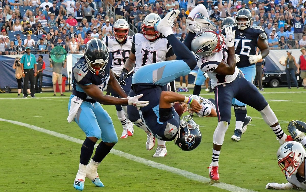You know the @Titans lost 22-17 to the New England Patriots on Saturday. We give you the who, what, how and why. #Titans #NFLPreseason #NFL mavensports.io/titans/gameday…