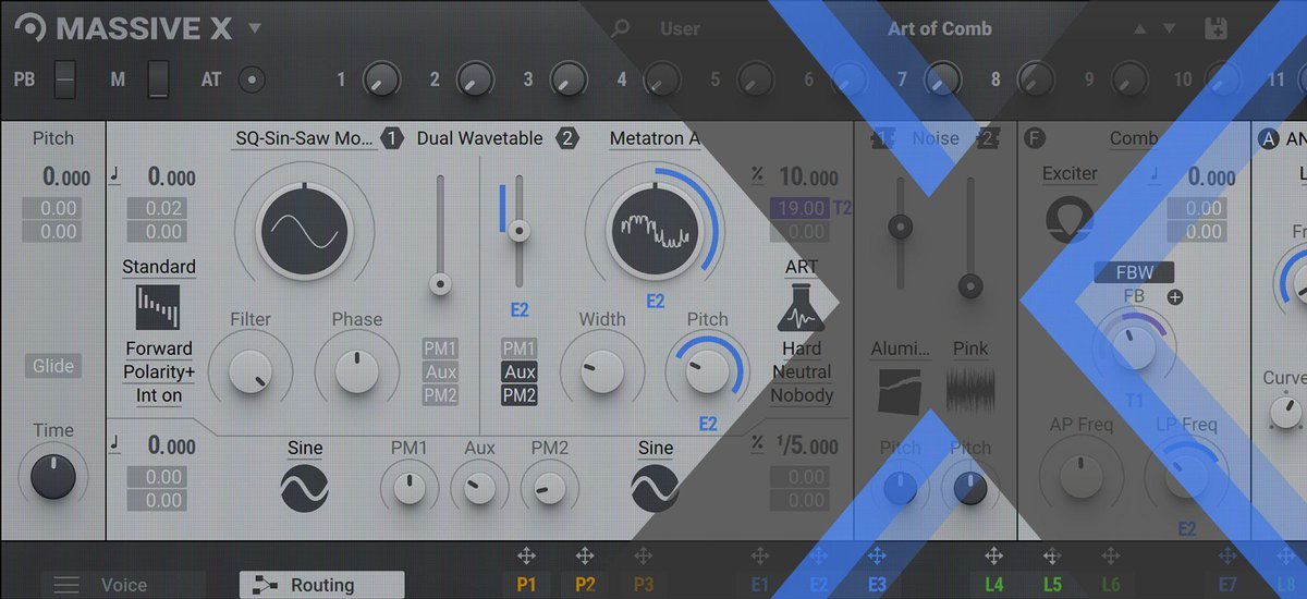 Learn MASSIVE X: 5 ways to work with wavetables   Native Instruments' new VI  https:// blog.native-instruments.com/get-to-grips-w ith-using-oscillators-in-massive-x/  …  #MusicianResources #MusicianTips<br>http://pic.twitter.com/1x0gzZk3pE