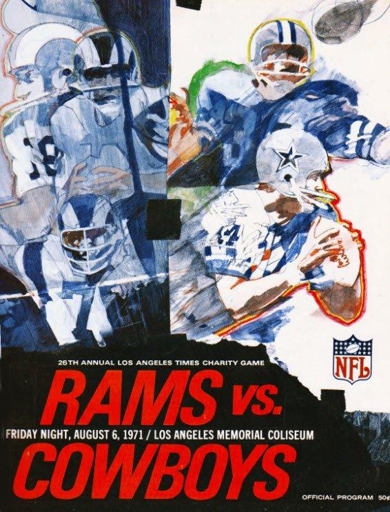 #NFLArt #DALvsLAR Fine tradition of Rams-Cowboys preseason games