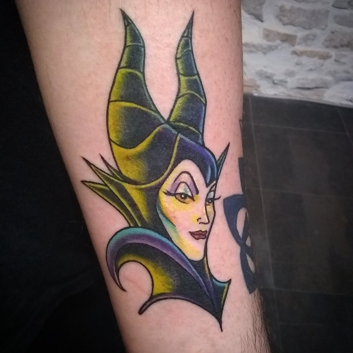 Image result for maleficent tattoo