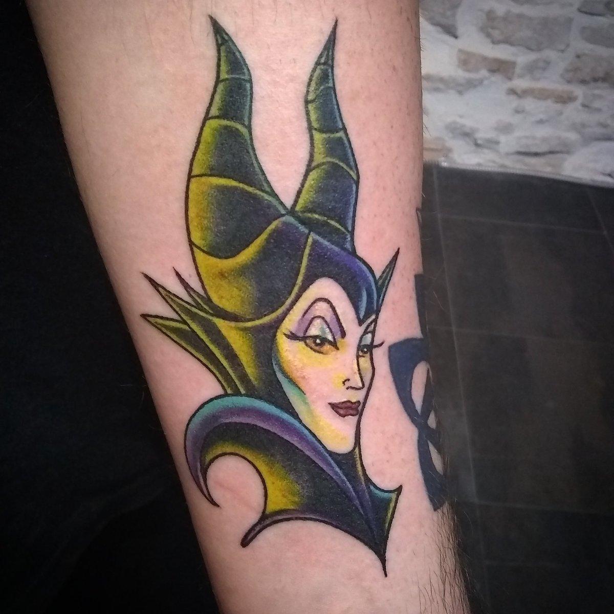 "Kimber Bennis 🦇 on Twitter: ""Did another fun Disney tattoo ..."