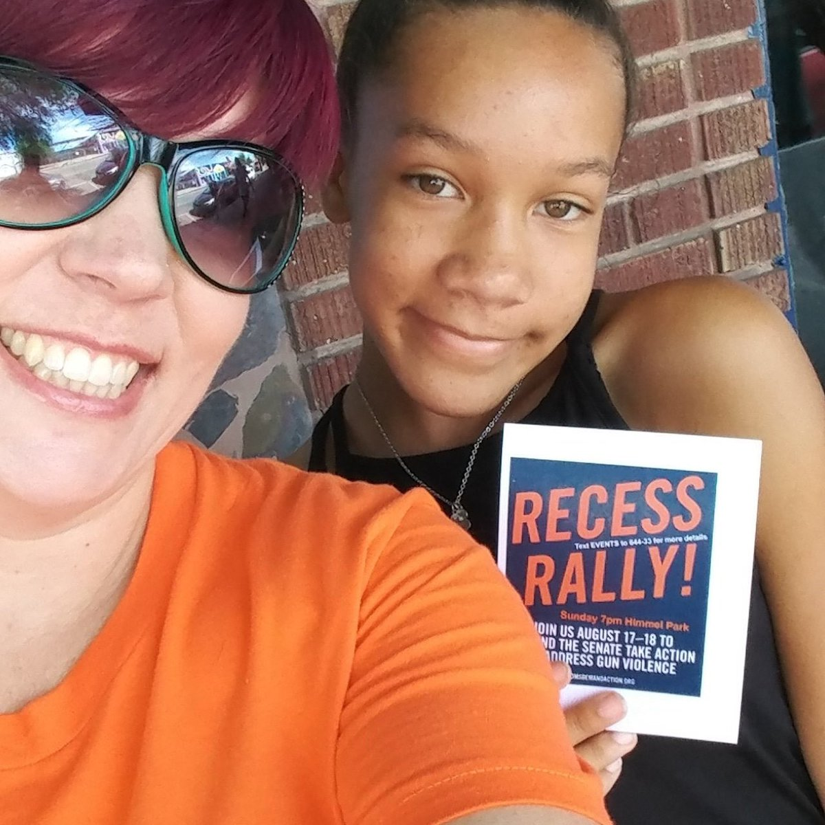 Did you miss a #RecessRally today? Good news: there are lots more on Sunday. Text RALLY to 644-33 and join us at an event near you on Sunday. Democracy isn't a spectator sport. And your Senators need to see that you demand action to stop gun violence.
