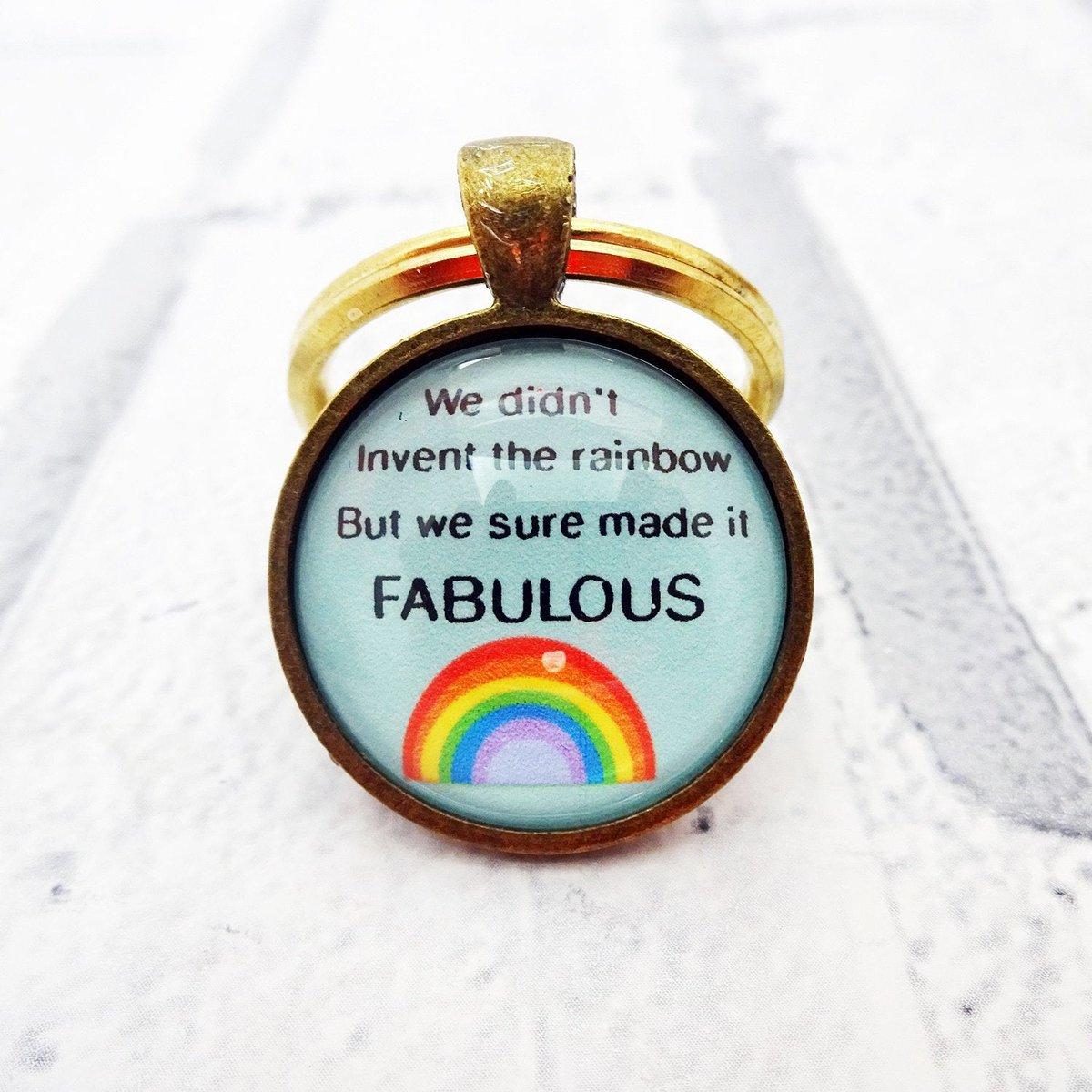 Gay pride keychain gay keyring rainbow key chain lgbtq