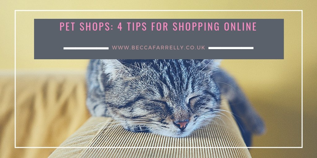 Here are 4 tips for using an online pet shops for pet supplies. It can be the most convenient way to shop but there can be some issues too! https://www.beccafarrelly.co.uk/pet-shops-4-tips-for-shopping-online/… #ad #onlinepetshop #petsupplies #petshops