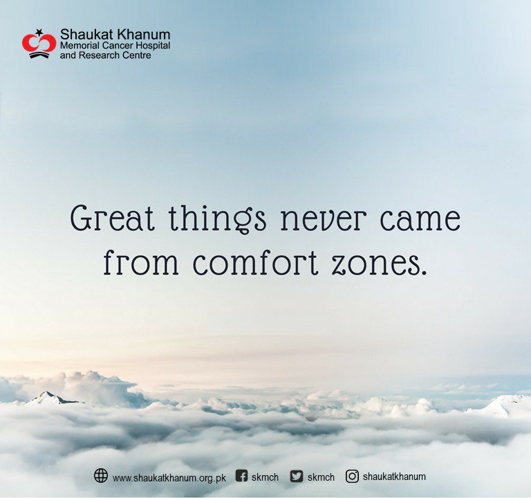 Quote of the Day 'Great things never came from comfort zones.'  #QuoteOfTheDay #SKMCH<br>http://pic.twitter.com/DAWQJspTjO