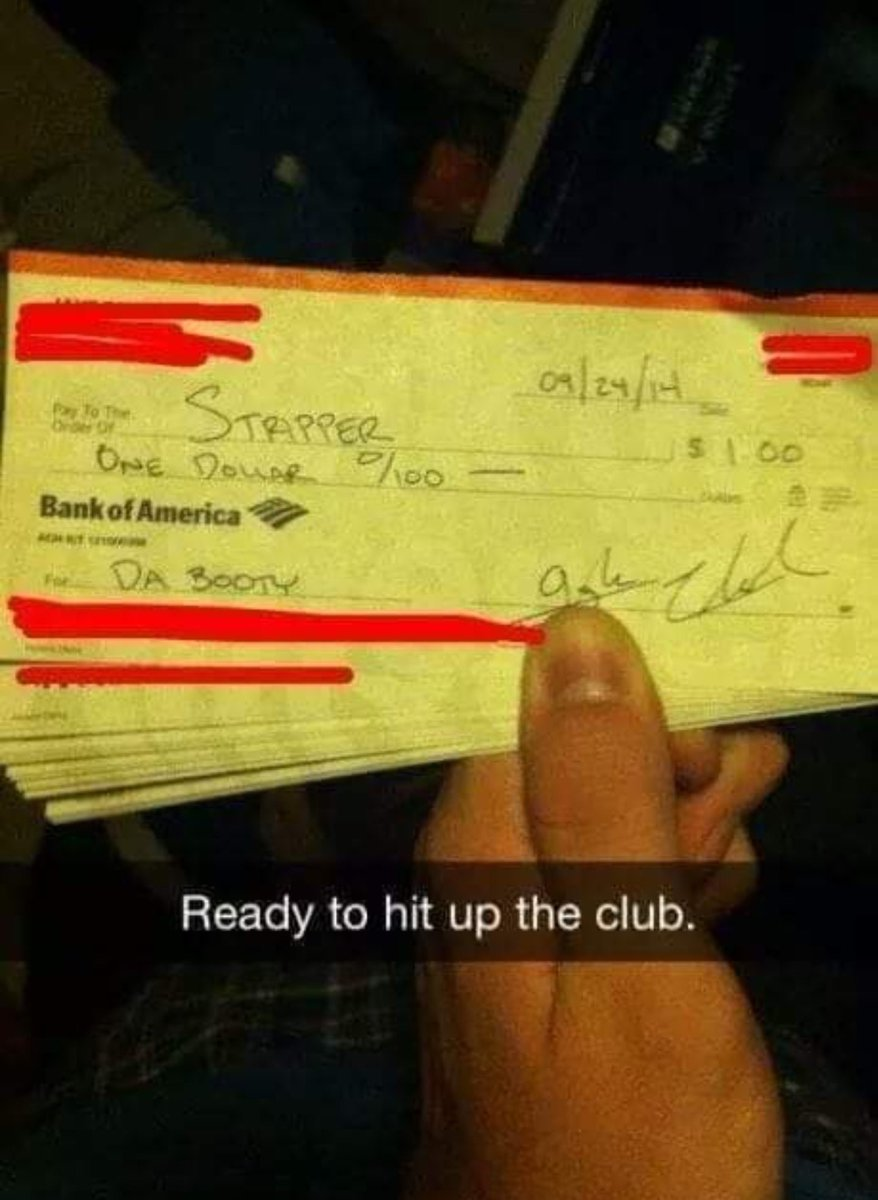 How white people tio at the strip club