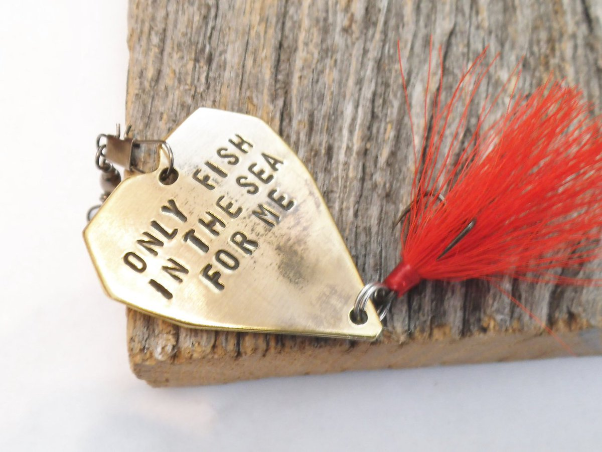 Birthday Gift for Him Only Fish in the Sea For Me Gift for Mom Mother's Day Accessory for Mommy from Son to Dad Father's Day Fishing Lure http://tuppu.net/47eb7b72 #CandTCustomLures #Shopify #Only_fish_in_the_sea