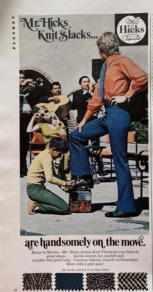 """Slacks"" the #1970s word for trousers #mensfashion <br>http://pic.twitter.com/8DK9b1Hd43"