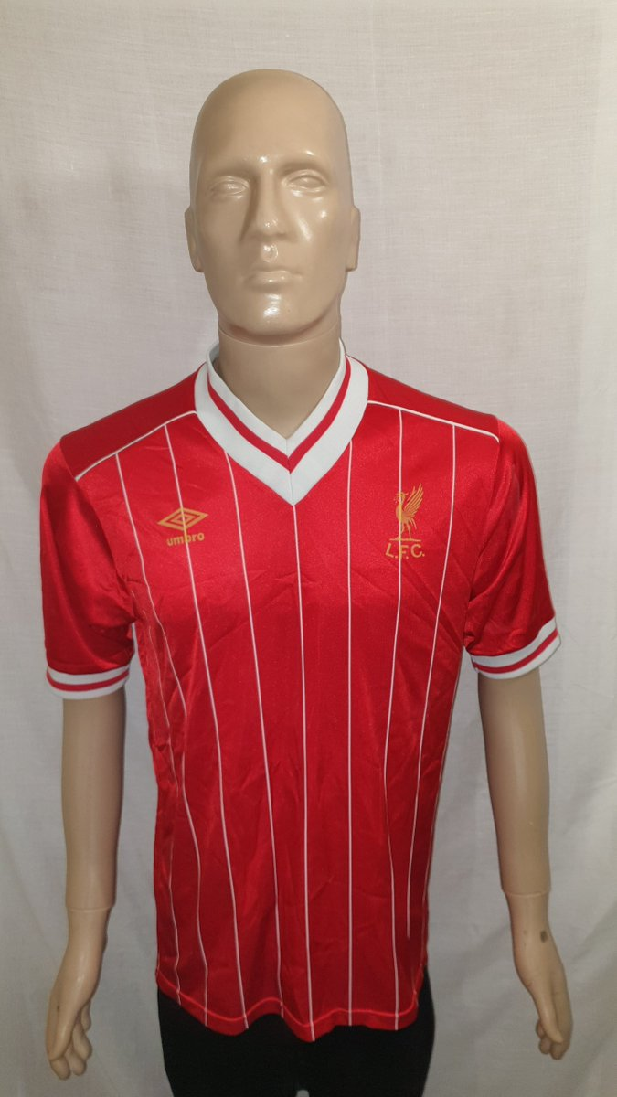 1982/83-1984/85 #Liverpool Home Shirt Now available to buy from @shirtstopcorner. bit.ly/2YZhCmQ #LiverpoolFC #LFC #Reds #LFCfamily #youllneverwalkalone #YNWA #6times #sixtimes #L4 #scousenotenglish #topoftheleague #Premier_League #PL #jersey4sale #FootballMemorabilia