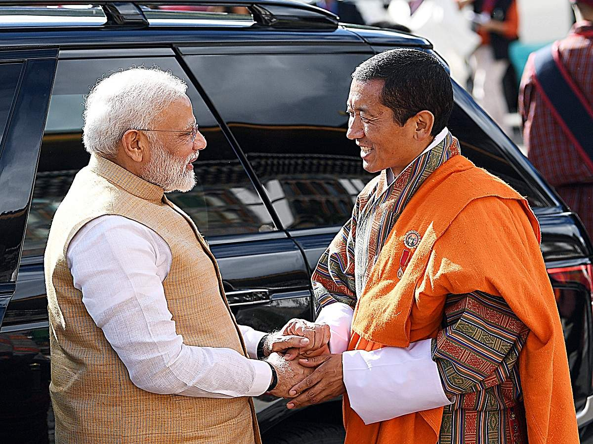 Modi's visit successful, especially in terms of heart-to-heart connect: Bhutan PM READ: http://toi.in/PblwxY/a24gk