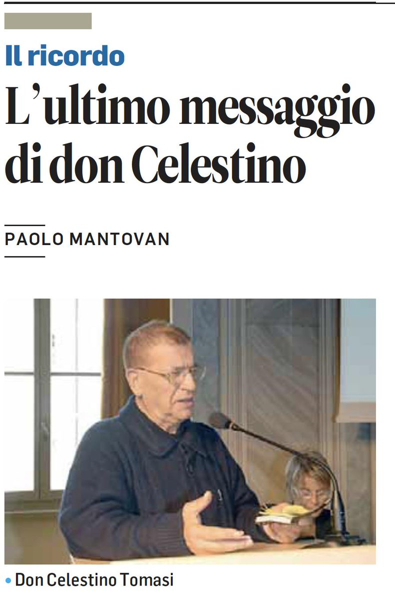 RT @pregiuliano: Bello il ricordo di don Celestino...