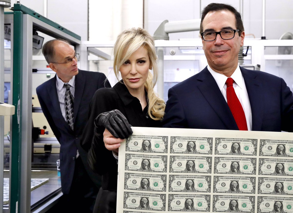 EXCL Steven Mnuchin, the US Treasury Secretary, and his wife, Louise Linton, stand to benefit from a controversial housing development in an affluent Edinburgh suburb. A trust behind the plans is among £9m of Scottish assets disclosed by Mnuchin. My story: scotsman.com/interactive/mn…