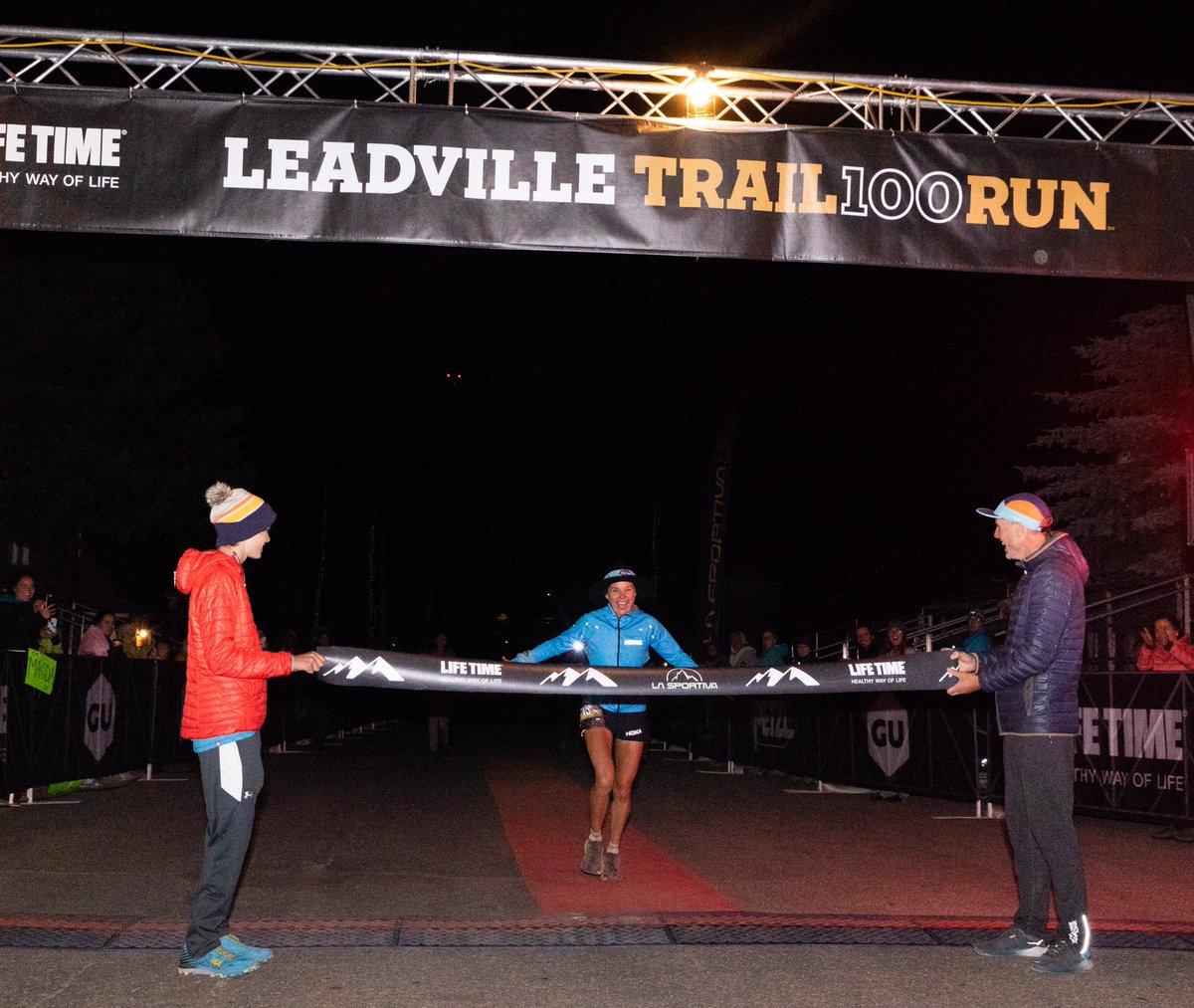 Your Leadville Trail 100 Run Winner! Congratulations, @RunBoulet! We are so proud of you! #GUFORIT #LT100Run