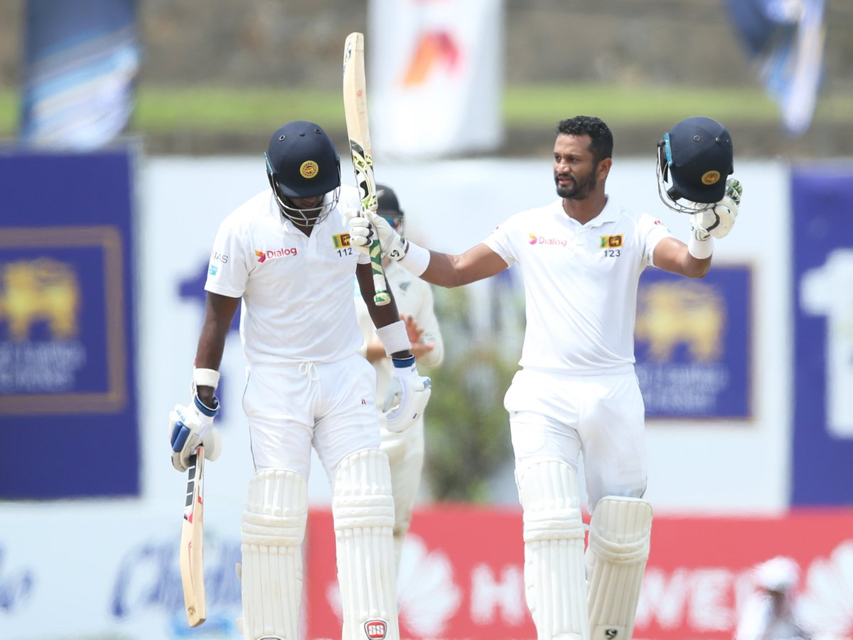 Karunaratnes superb hundred headlines Sri Lankas six-wicket win in Galle! #SLvNZ Heres the match report - cricbuzz.com/cricket-news/1…