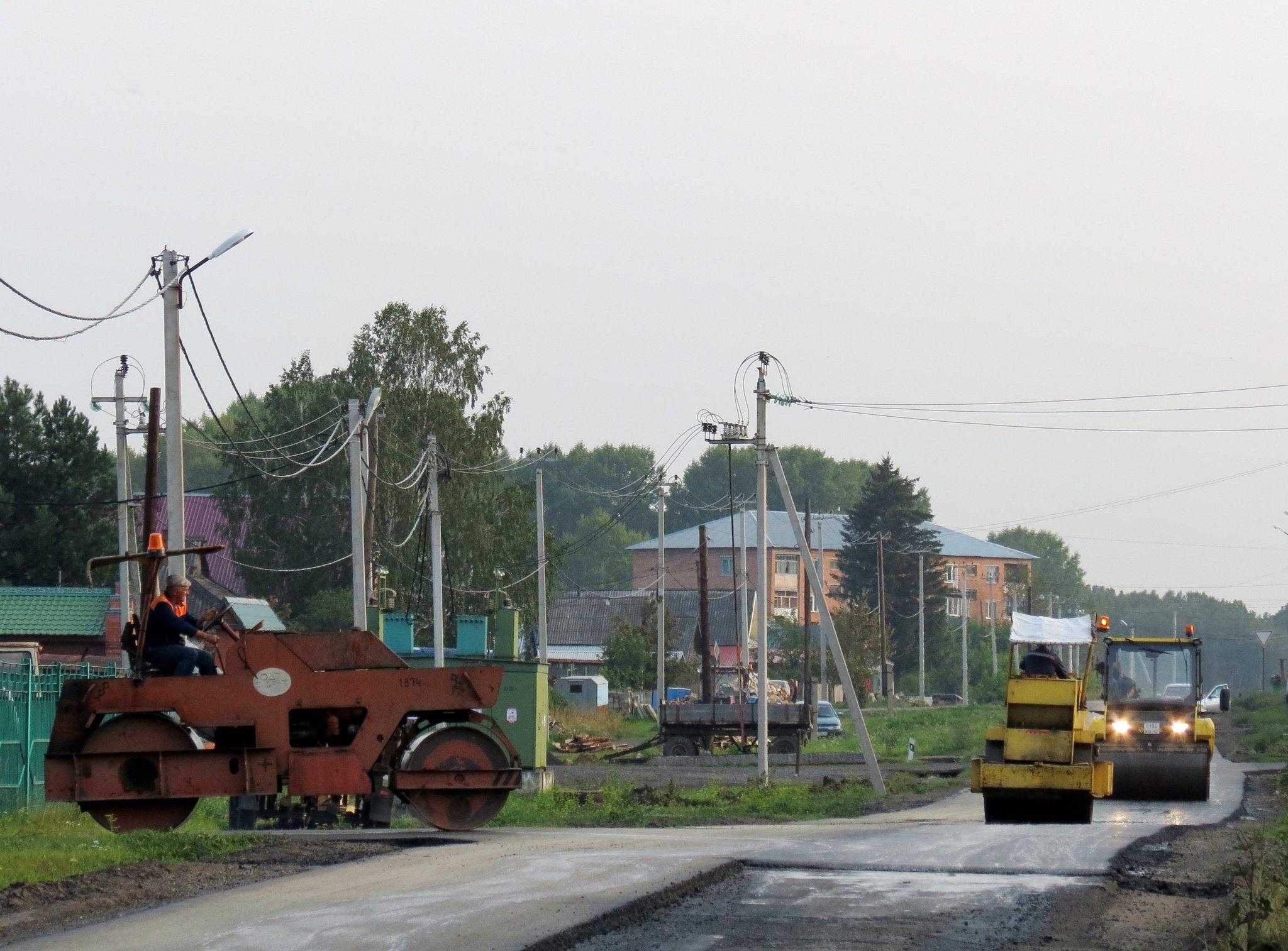 Фото дороги красноярск тяжин