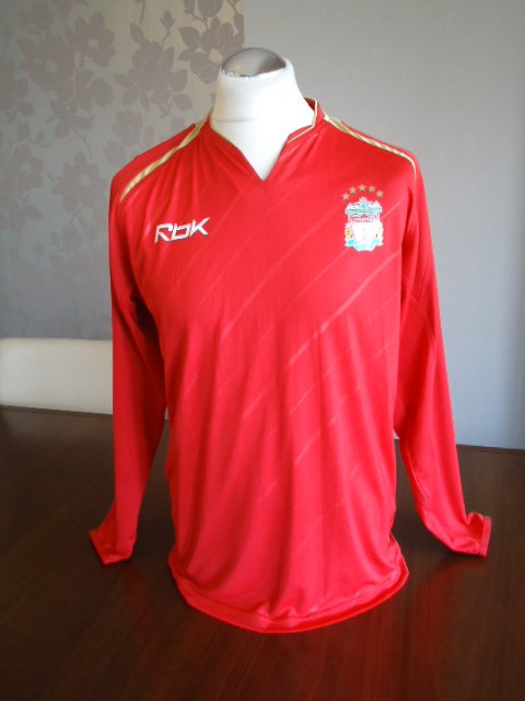 proper football, proper vintage @LFC @LFCMAGAZINE @TheKop_com @TheKopMagazine @spiritofshankly @brazilegend10 @LFCTV 2005 LONG SLEEVED Champions League PLAYER ISSUE shirt - UNSPSONSORED Size is ADULTS MEDIUM Condition is EXCELLENT 4 SALE NOW ebay.co.uk/itm/3527487638…