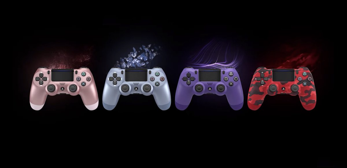 The PS4's DualShock 4 controller is getting some fresh fall colors