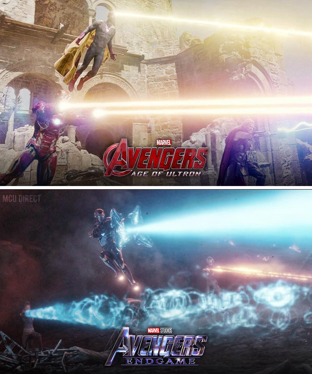 The power of 3... #AvengersEndgame