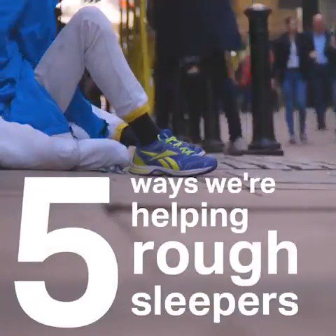 We're working all year round to end rough sleeping in London for good - here's how: #HelpLondonsHomeless