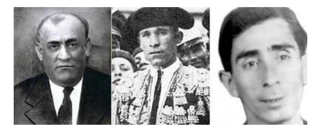 En este 83 aniversario del asesinato de #FedericoGarcíaLorca, no olvidemos a Arcollas,Galadí y Galindo, cuyos restos se mezclan desde entonces con los del poeta en un barranco de su #Granada, ni tampoco de los otros 100.000 españoles en cientos de fosas y cunetas de todo el país