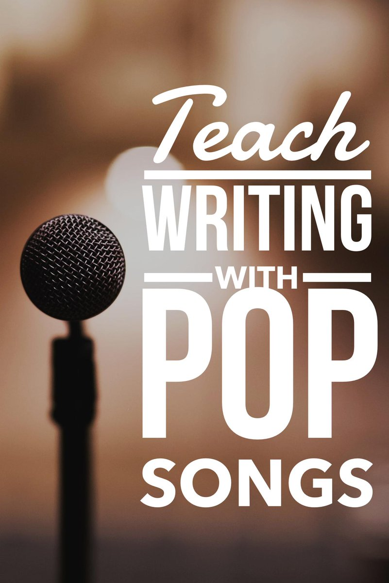 The BEST way to teach writing? Meet students where they are, with the texts they're already engaging with. Unpack and analyze pop songs, synthesize them, and use them as mentor texts!  Join our community to access ALL of our resources!  https:// buff.ly/2ZDYyqJ     #engchat #2ndaryela<br>http://pic.twitter.com/RXFBpFGNvg