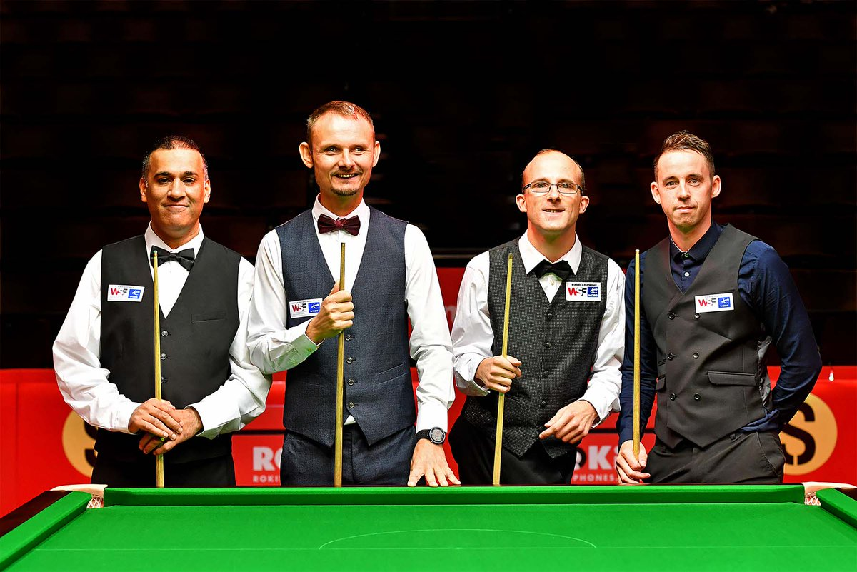 The wait is almost over - with 2⃣5⃣ WDBS titles between them, Daniel Blunn, Mickey Chambers, Nick Neale and Shabir Ahmed are ready to rock the Crucible! Watch live in the UK/Ireland on FreeSports, or via the WDBS Facebook page elsewhere in the world. #DisabilitySnooker #Cue4All