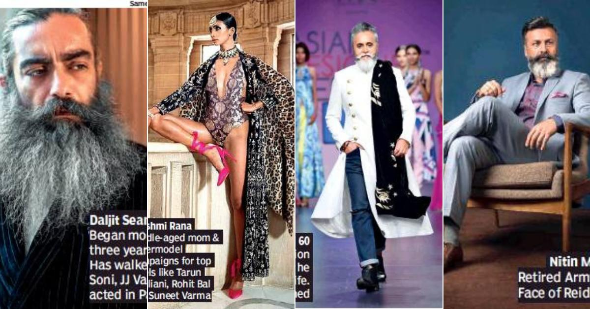 Rise of the midlife model As fashion gets more age-inclusive, older models are showing that silver can be sexy Read: http://toi.in/vm99sa/a24gk