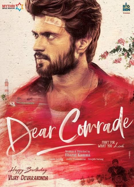 #DearComrade streams on @PrimeVideoIN from Aug30th  @TheDeverakonda @iamRashmika  @bharatkamma<br>http://pic.twitter.com/9WkGoOFIaJ