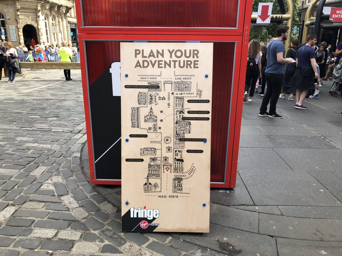 What have you got planned for the @edfringe today? Turn your Sunday into a Funday at the Virgin Money Street Events on the Royal Mile. #MakeYourFringe <br>http://pic.twitter.com/IkXwAcDABL