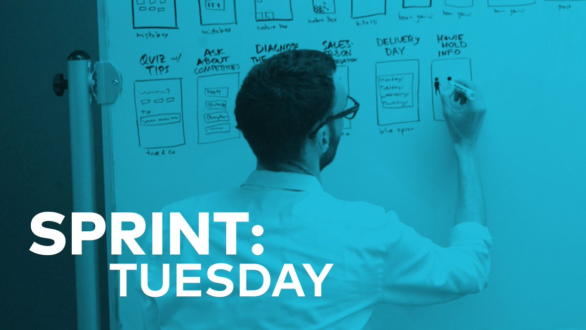 Design Sprint: Tuesday #DesignThinking #Leanstartup #Sprint  http:// dlvr.it/RBQzRb      #DLT #IoT #FutureLearning #AI<br>http://pic.twitter.com/eDZzREaBEG