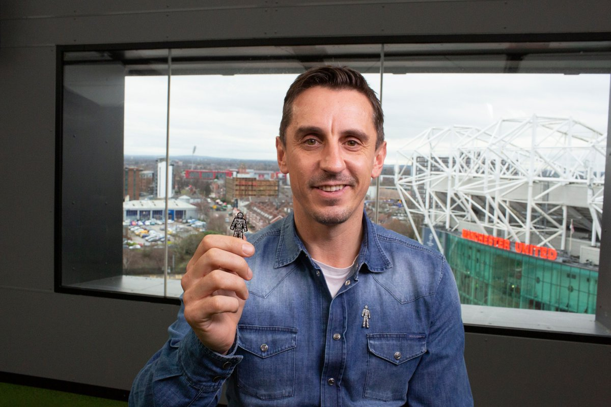 This is the badge that I see most on managers up and down the country, on Saturday and Sunday afternoons, when I'm covering the games. The LMA have been incredible in respect of Prostate Cancer UKs campaign. Get your own #ManofMen badge like @GNev2 👉 bit.ly/2Bg0L0t