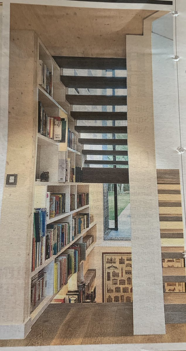 Oh my giddy aunt... If you love a good bookcase, the pictures in @HughGrahamST's piece today are bordering on obscene...