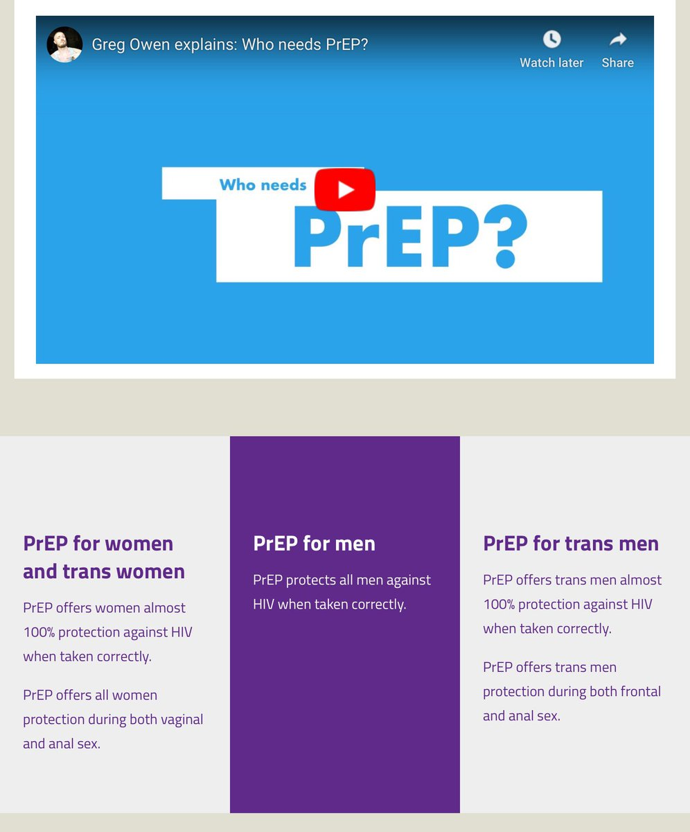 """2 of 2: We recommend daily #PrEP for all trans people using hormones and people wanting protection for receptive vaginal/frontal sex. Find more information on our """"who needs PrEP?"""" page. 👉iwantprepnow.co.uk/who-needs-prep/"""