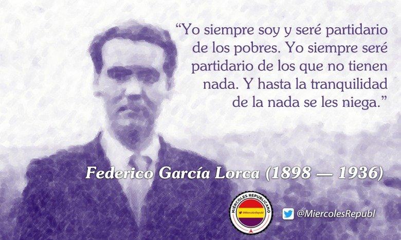 Mientras Federico García Lorca permanece perdido en una fosa común, su asesino descansa con honores en la basílica de la Macarena, en Sevilla... ctxt.es/es/20171220/Cu…