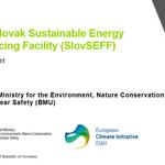 Image for the Tweet beginning: The @EBRD credit line SlovSEFF