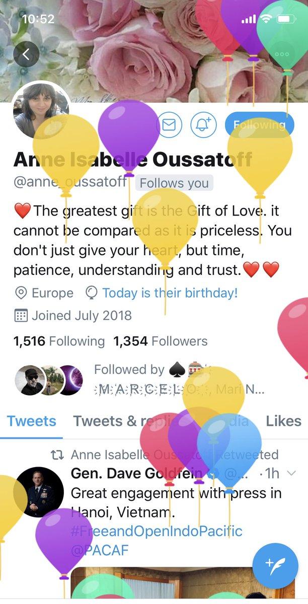 @anne_oussatoff Happy birthday 🎂🎈🎊🎉🎁