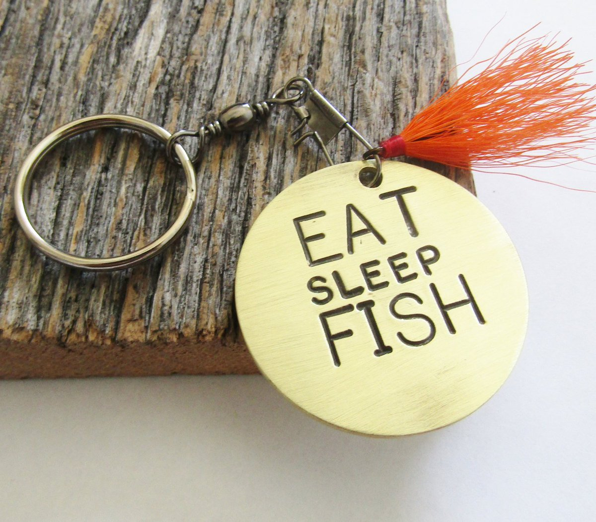 Eat Sleep Fish Keychain for Grandpa Custom Keychain for Him Fisherman Keychain Fly Fishing Keyring Fishing Quotes Christmas Gift for Him Dad http://tuppu.net/430aaf45 #Shopify #CandTCustomLures #Accessories