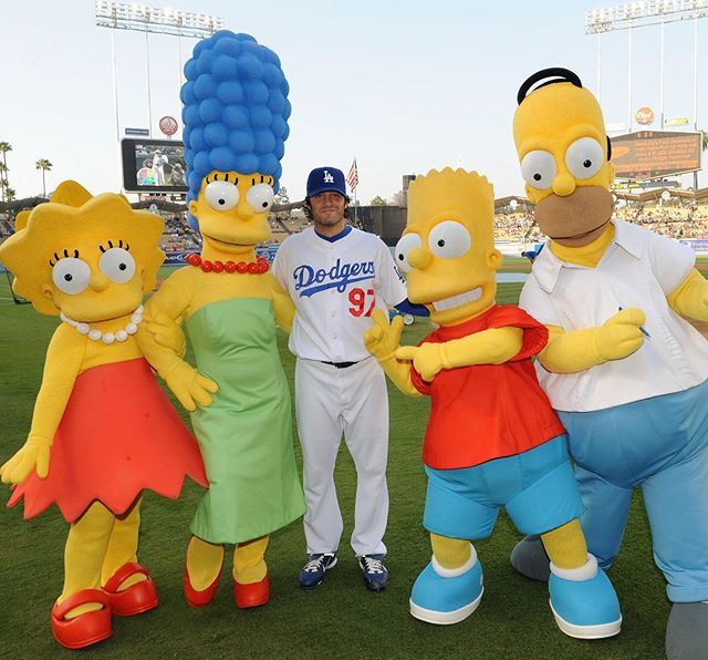 "The SooHoo""Dodgers""Scrapbook ""FRIENDS-I Mean SIMPSONS"" 8/18/19-I missed #lefthandersday so making up for it with @joebeimel97 and his guests at Dodger Stadium from August of 2008. Happy Belated Lefthanders Day Joe. 📷: @jon.soohoo @dodgers @thesimpson… https://ift.tt/2Z0qc4O"