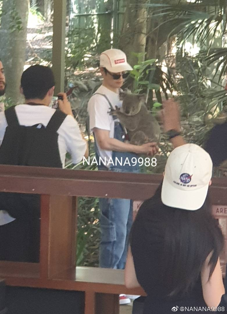 It's been literal ages since junmyeon visited Australia and held a Koala and we still didn't get this photo <br>http://pic.twitter.com/MQDjGZTeZu